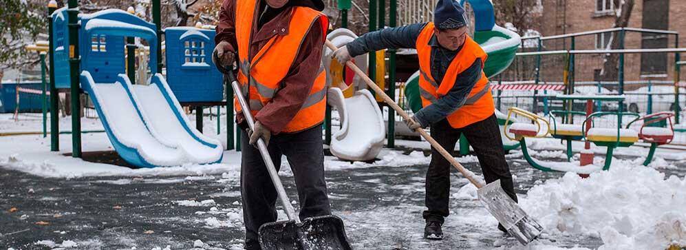 регламент уборки дворовых территорий в зимний период